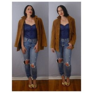 Rosleen Suede Leather Jacket
